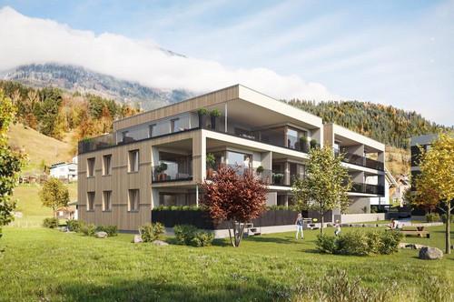 2-Zimmerwohnung mit großer Terrasse in Bludesch