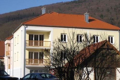 Aggsbach Markt. Geförderte 3 Zimmer Wohnung | Balkon | Miete mit Kaufrecht.