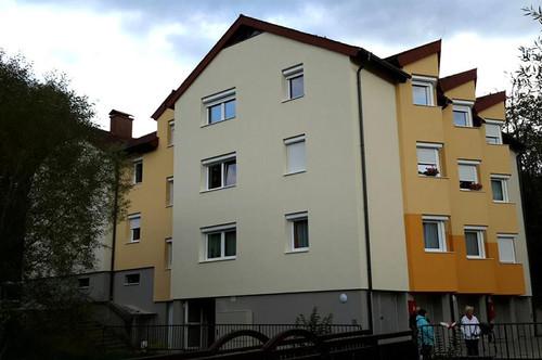 Bad Schönau. Geförderte 4 Zimmer Mietwohnung.