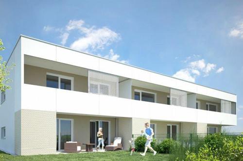 Ladendorf. Geförderte 3 Zimmer Wohnung | Loggia | Miete mit Kaufrecht.