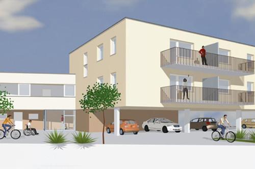 Steinakirchen/Forst. Neubau | Geförderte 3 Zimmer Mietwohnung | Balkon.