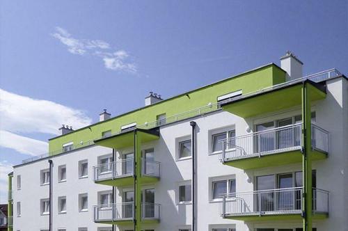 Eggendorf. Geförderte 3 Zimmer Wohnung | Dachterrasse.