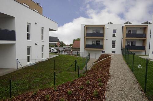 Obritzberg-Groß Rust. Geförderte 3 Zimmer Wohnung | Loggia | Miete mit Kaufrecht.