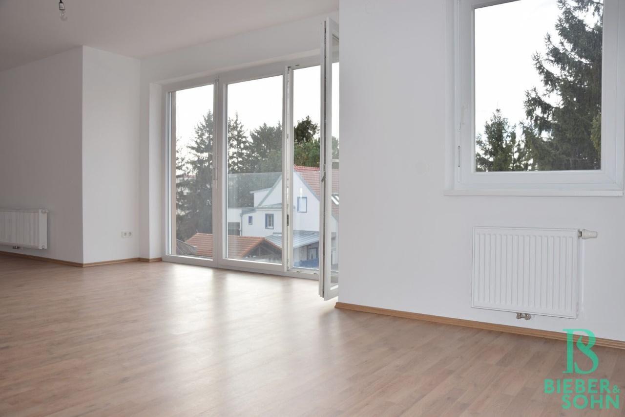 Elegante, sonnige 2-Zimmerwohnung mit französischem Balkon - Blick ins Grüne - Erstbezug PROVISIONSFREI