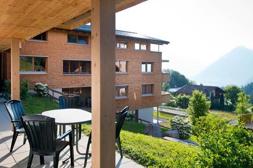 Ferienwohnung mit Bergpanorama in Bürserberg