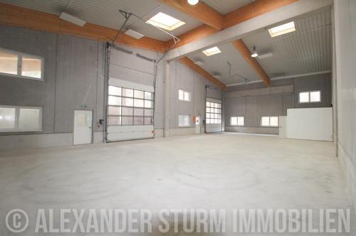 """Hochwertige Produktions-/ Lagerhalle mit überdachter Freifläche """"Halle 1"""""""