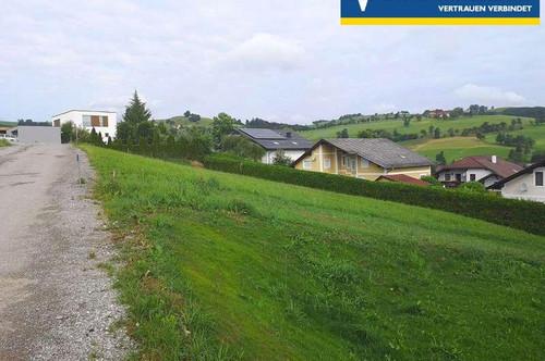 <b>Baugrundstück mit Aussichtslage für zukünftiges Eigenheim</b>