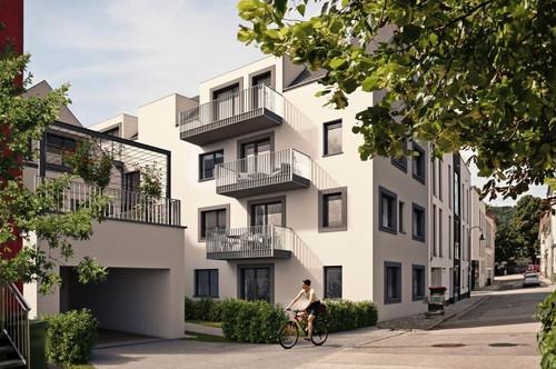 EXTRAVAGANTE WOHNUNG mit Dachgarten u. 2 Balkonen - Top 5