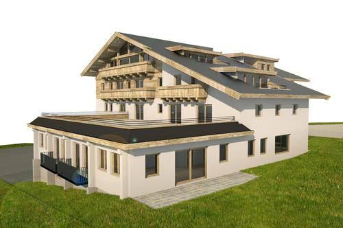 Erstbezug - Gartenwohnung in zentraler Lage von Jochberg Top 6