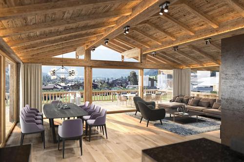 "Penthouse - Wohnung ""W6"" -  TRINITY LODGES mit imposantem 360°-Panorama"