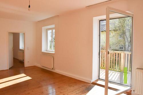 Nonntal: 2,5 Zi. Altbauwohnung mit Garten & Garage