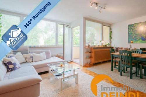 Top gepflegte 3-Zimmer-Wohnung mit Balkon in Maxglan-Riedenburg