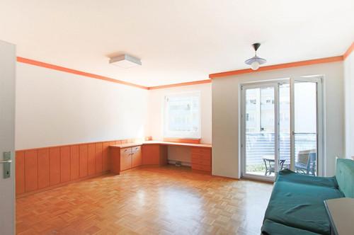 ruhige und sonnige Neubauwohnung für Singles mit Balkon!