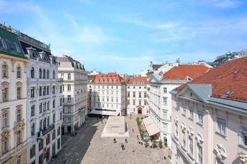 3807 - Prachtvolle Wohnung mit Blick auf Judenplatz