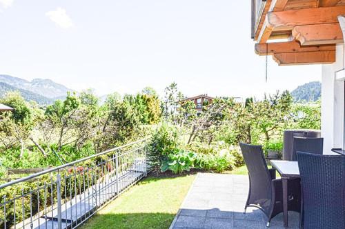 Bezaubernde 3-Zimmer-Gartenwohnung mit wunderschönem Kaiserblick - Skiliftnähe