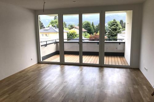 3 Zimmer Neubauwohnung mit freiem Grün- und Bergblick & 2 Tiefgaragenplätzen