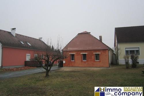 Ursprünglicher, teilrenovierter Arkadenhof im Bezirk Jennersdorf