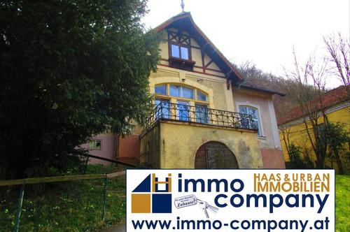 Historische Fachwerk-Jagdvilla