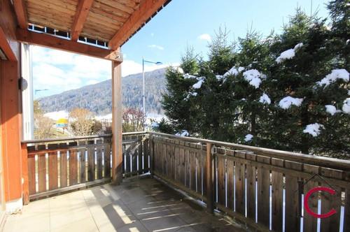 Entzückendes Appartement mit überdachter Terrasse in Thermen- und Skiliftnähe