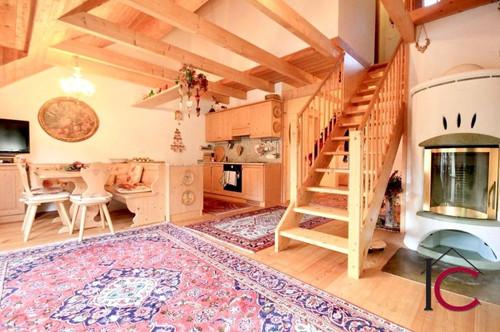 Sehr schön ausgestattetes Duplex-Ferienappartement mit Garage