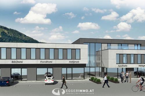 Neubauprojekt in Vorbereitung: GESCHÄFTS- BÜRO - PRAXISRÄUME - in Kaprun zu verkaufen