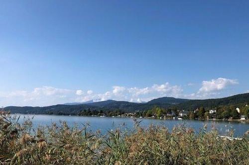 Pörtschach am Wörthersee - Schöne Liegenschaft mit privatem Seegrundstück