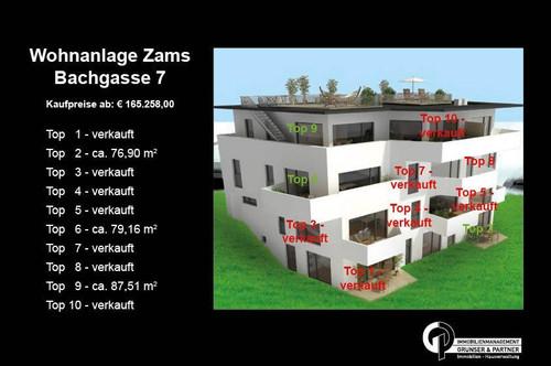 4-Zimmer Gartentraum im Herzen von Zams TOP 2