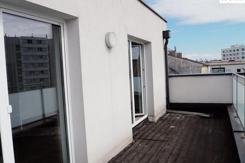 Schicke 3 Zi-Wohnung mit 2 Dachterrassen - in der Drouotstraße 4 zu vermieten - Top 17