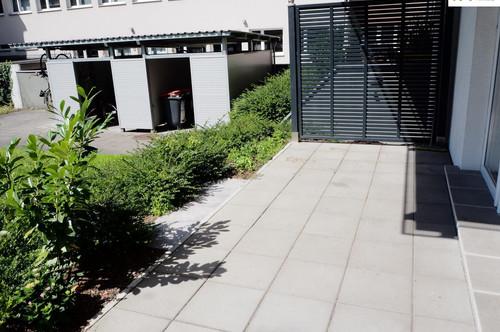 Sonnige Terrassen-Wohnung (3-Zimmer) in der Bürgerstraße 8 - Top 1