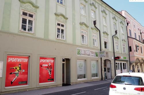 2 Zimmer-Wohnung mit Wintergarten in historischem Gebäude * Wiener Straße 2, Top 7