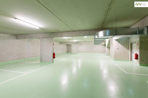 JETZT BESICHTIGEN: SICHER UND KONTAKTLOS! Tiefgaragenplatz in einer neuen, hellen Garage - Idlhofgasse 48 -