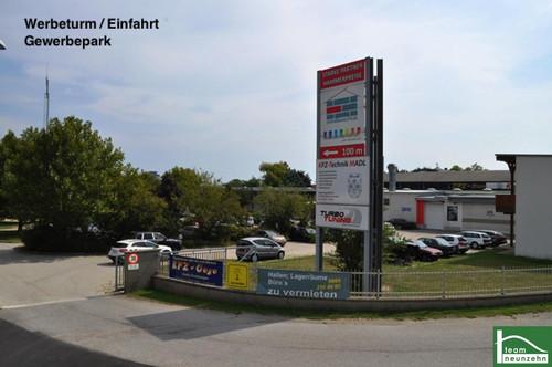 Industriegelände Donnerskirchen! Büro, Geschäft, Lager, Werkstatt! 10m2 - 1500m2! Ab 25€ Netto/Monat!