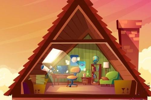 Sonnige Dachgeschoßwohnung mit normaler Raumhöhe
