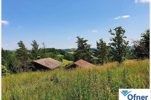 Krottendorf: Sonnengrundstück mit schöner Aussicht in die Ferne