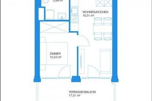 COPACABANA - Erstbezug - 35m² - 2 Zimmer - große Terrasse/Balkon - privater Seezugang - inkl. Carport