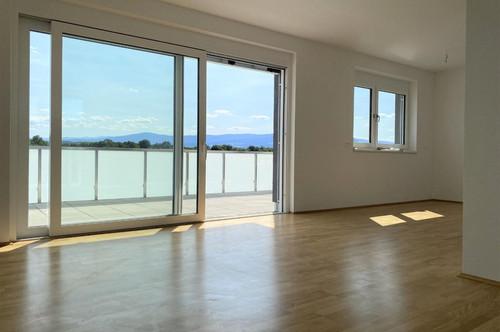 Exklusive 2-Zimmer-Penthousewohnung mit rund 32 m² großer Dachterrasse - Erstbezug
