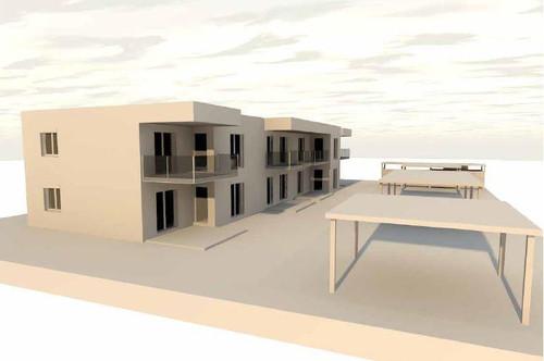 Erstbezug – 2-Zimmer-Wohnung mit idealer Raumaufteilung und großzügigem Eigengarten