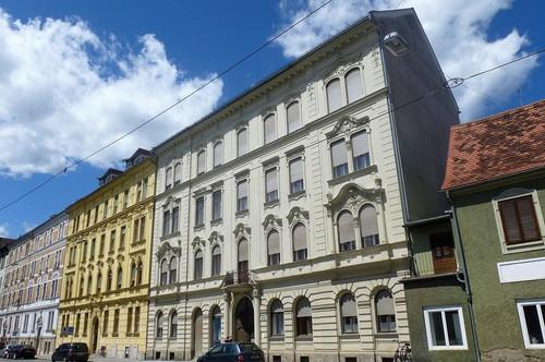 In absoluter Bestlage direkt gegenüber der Karl-Franzens-Universität - Anlageobjekt mit exklusiven, vermieteten Wohnungen im Jugendstilhaus und KFZ-Tiefgaragenabstellplätze