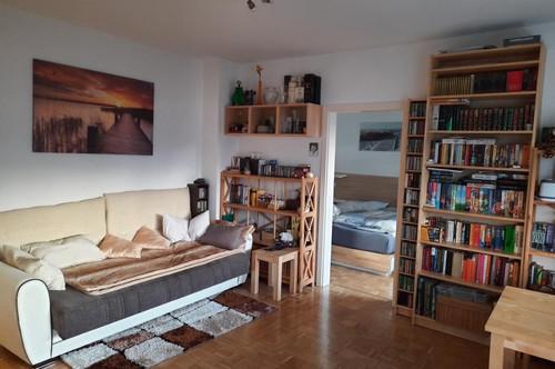 Sehr gepflegte und helle 2-Zimmer-Wohnung mit Balkon in Grünruhelage in Andritz