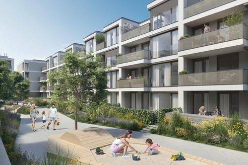ESCHENGARTEN - Drei Zimmer Wohnung mit Terrasse - provisionsfrei zu kaufen - 1230 Wien