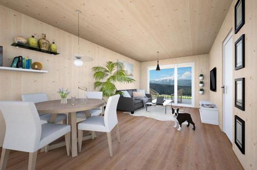 Zweitwohnsitz/Anlegerwohnung - Traumhafte 2-Zimmerwohnung mit Fernblick