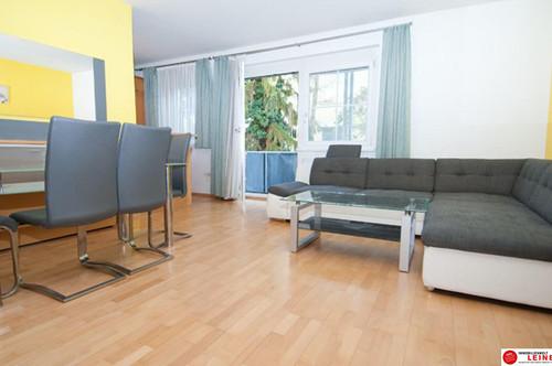 Herzlich willkommen auf 80 m² - geschmackvoll möblierte 3 Zimmer Mietwohnung mit Loggia in bester, grüner Innenhof Lage!