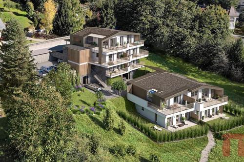 VERKAUFSSTART! parkVILLA*S Millstatt - Exklusive Villa mit Seeblick in Top-Lage - Haus A1&A2 Kombi