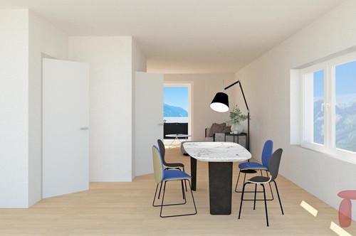 3-Zimmer-Maisonette mit Balkon und Terrasse