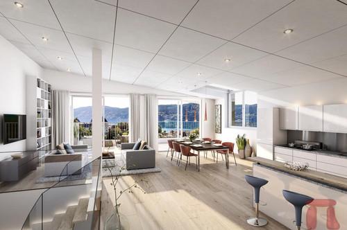 VERKAUFSSTART! parkVILLA*S Millstatt - Exklusives Wohnprojekt mit Privatsphäre - Doppelhaus A1