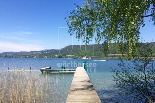 Exklusive Mietwohnung mit eigenem Seezugang in Velden am Wörthersee