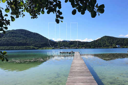 """Unbebaute Seeliegenschaft am Klopeiner See, dem """"Meer der Steirer"""""""