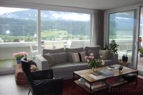 4 Zimmer Terrassenwohnung auf 130m2 mit großer Terrasse und 2 Tiefgaragen