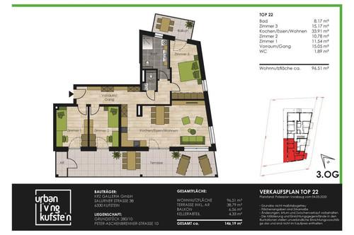 4-Z-Terrassenwng Süd-West - Urban Living Kufstein