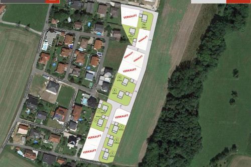 676 m² Grund + Ziegelhaus in Pucking ab € 389.760,-